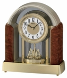 Seiko QXW221BRH Melodies in Motion Musical Mantel Clock