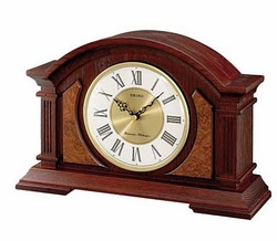 Seiko Wooden Chiming Mantel Clock - QXJ014BLH