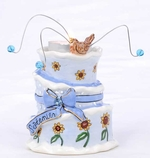 September Birthday Cake - Clayworks Blue Sky 2008