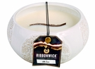 SILK LACE LARGE ROUND RibbonWick Scented Candle