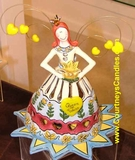 Sister's Queen T-Lite - Clayworks 2004