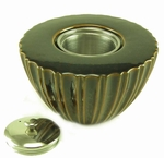 Small Lotus PatioGlo Burner or Fire Pot by  Marshall Group
