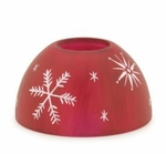 Snowflake Aurora Candle Warmer Lamp Shade