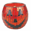 SPOOKY PUMPKIN Mosaic 10 oz WoodWick Scented Candle