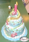 Spring Birthday Cake - Clayworks Blue Sky 2006
