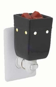 Square Black Plug In Warmer by Candle Warmers