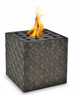 Square Mondello Flame Pot or Fire Pot by Pacific Decor