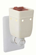 Square White Plug In Warmer by Candle Warmers