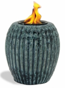 STORM RIBBED Flamepot or Fire Pot by Pacific Decor