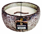 SUGARED AMBER LARGE ROUND RibbonWick Scented Candle