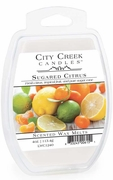 SUGARED CITRUS City Creek 4 oz Scented Wax Melts by Candle Warmers