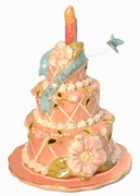 Summer Birthday Cake - Clayworks Blue Sky 2006