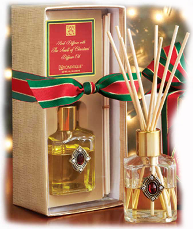 The smell of christmas aromatique reed diffuser gift set