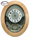 Timecracker Golden Oak by Rhythm Clock