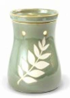 TRANQUILITY GREEN  Fragrance Warmer - Wax Melter by AmbiEscents