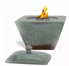 TROPICS TAPER Flamepot or Fire Pot by Pacific Decor
