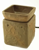 Tuscan Brown ILLUMINATION Fragrance Warmer by Candle Warmers