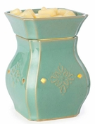 VINTAGE TURQUOISE Illumination Fragrance Warmer by Candle Warmers