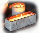 WARM HEARTH Multi-Wick WoodWick Scented Candles