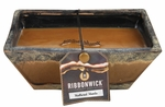 WEATHERED WOODS MEDIUM RECTANGLE  RibbonWick Scented Candle
