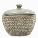 White LONGFIRE Flamepot or Fire Pot by Pacific Decor