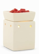 White Square Illumination Fragrance Warmer by Candle Warmers