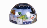 Winter Wonderland Aurora  Candle Warmer Lamp Shade