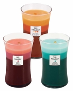 WoodWick Trilogy 22 oz Scented Jar Candles - 3 in One