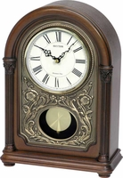 WSM Amherst Musical - Chiming Mantle Clock by Rhythm Clocks