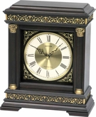 WSM Torino Musical - Chiming Mantle Clock by Rhythm Clocks