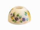 Yellow Floral Aurora  Candle Warmer Lamp Shade