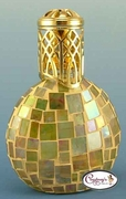 Yellow & Red Monaco Mosaic Fragrance Lamp by Courtneys