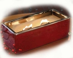 YULETIDE SPICE LARGE RECTANGLE RibbonWick Scented Candle