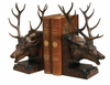 Animal Book Ends - Elk