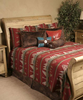 Cowboy Bedding - Yellowstone Red