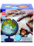 11-Inch Dual-Cartography LED Illuminated Globe