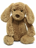 12-Inch Bashful Toffee Puppy Plush