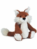 12-Inch Bashful Woodland Fox Plush