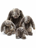 20-Inch Woodland Bunny Plush