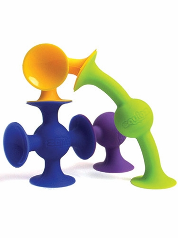 24 Pc Squigz Suction Construction Starter Set