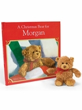 A Christmas Bear for Me Personalized Book and Plush Bear Gift Set