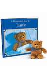 A Hanukkah Bear for Me Personalized Book and Plush Bear Gift Set