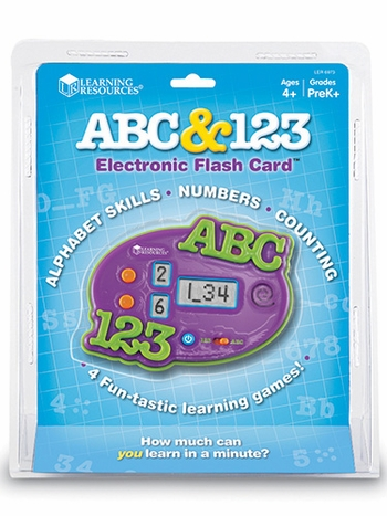 ABC & 123 Electronic Flash Card
