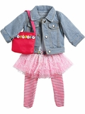 Adora California Sun 3 Outfit for 18-Inch Dolls