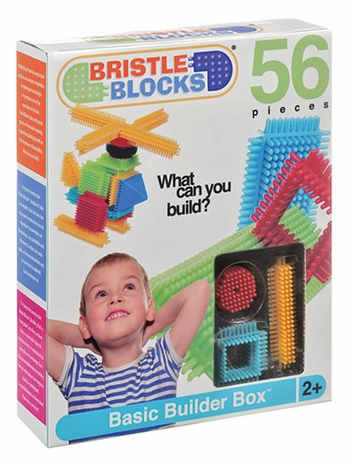 Battat Jungle Bristle Blocks 54-Piece Set