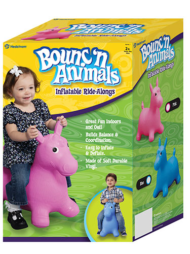 Blue Pony Bouncer