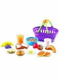 Breakfast Basket Play Food