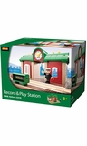 Brio Wooden Railway Record & Play Station