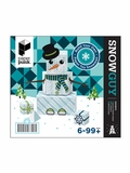Build Your Own Paper Toy Snowguy/Snowgal Kit