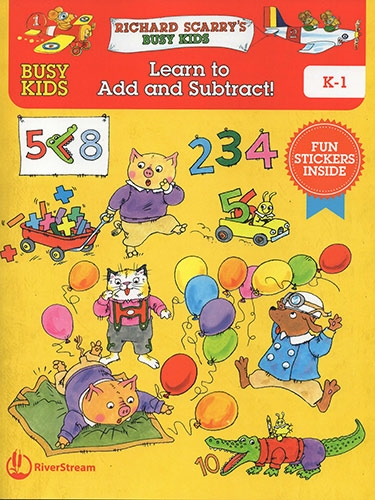Busy Kids Learn to Add and Subtract!